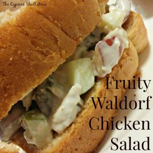 Fruity Waldorf Chicken Salad TCSG